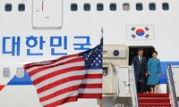 South Korean President visits US