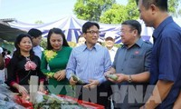Deputy Prime Minister Vu Duc Dam joins launching ceremony of clean food business movement
