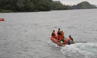Ferry carrying 80 passengers sinks in Indonesian lake