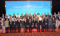 ASEM conference agrees on further joint effort for climate change response