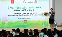 Denmark's painting competition for Vietnamese children kicks off