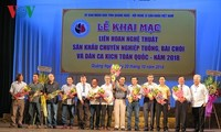 Folklore arts honored in Quang Ngai festival