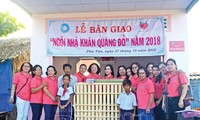 Red scarf houses inspire U Minh disadvantaged children to continue study