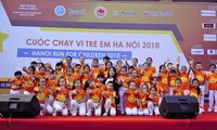 Thousands join Hanoi Run for Children 2018