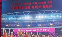 Photo book captures Vietnamese football's success in 2018