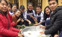 Foreign students celebrate Vietnamese Tet