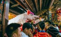 La Phu village preserves communal house, pig procession festival