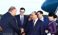 Prime Minister arrives in Saint Peterburg, beginning official visit to Russia