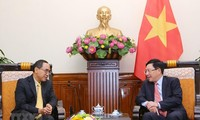 Deputy PM receives Thai Ambassador