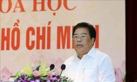 Conference on following President Ho Chi Minh's moral example