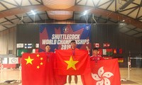 Vietnam wins two golds at 2019 Shuttlecock World Championships