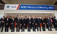 Ouverture de la conférence ministérielle de l'APEC à Vladivostock