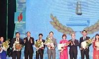 117 oeuvres journalistiques primés lors du Prix de la presse nationale 2012