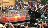 Les obsèques du général Giap largement couvertes par la presse étrangère