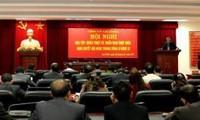 Bien saisir les résolutions du 8è plénum du Comité Central du Parti