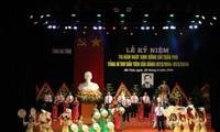 Hà Tinh célèbre le 110ème anniversaire de Tran Phu