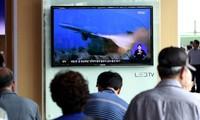 Pyongyang lance deux roquettes vers la mer