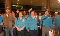 1.328 travailleurs vietnamiens ont été rapatriés de Libye
