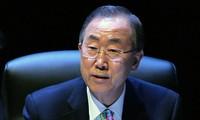 Entretiens téléphoniques sur la situation à Gaza entre Ban Ki-moon et plusieurs dirigeants