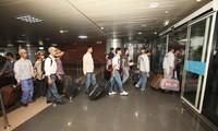 38 travailleurs vietnamiens supplémentaires ont quitté la Libye
