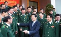 Truong Tan Sang: édifier une armée politiquement puissante, fidèle à la patrie