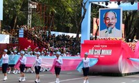 Générale du meeting célébrant le 40ème anniversaire de la libération du sud