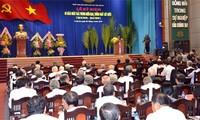 Long An fête les 40 ans de la réunification nationale