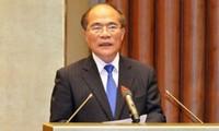 Nguyen Sinh Hung participe à la conférence mondiale des présidents de Parlement