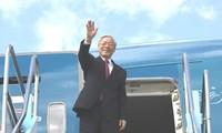 Le SG du PCV entame sa visite officielle au Japon