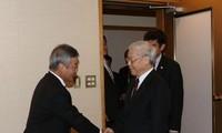 Le PDG du groupe Nikkei reçu par Nguyen Phu Trong