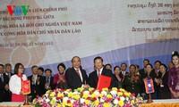 La commission inter-gouvernementale Vietnam-Laos tient sa 38ème session