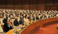 Meeting en l'honneur des 70 ans des premières législatives