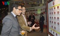 Réception pour saluer le Têt et le succès du 12e Congrès du parti
