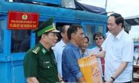 Trân Dai Quang demande à Phu Yên une meilleure organisation de la pêche