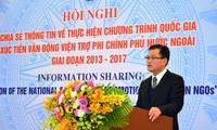 Améliorer l'efficacité de la coopération avec les ONG étrangères