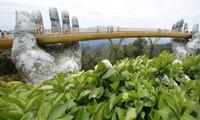Le Pont doré, l'une des destinations attrayantes à Danang
