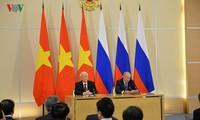 Nguyên Phu Trong remercie Vladimir Poutine