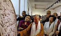 Pameran agama Buddha: Dharma Darshan-Kehidupan dan  penyampaikan ajaran agama dari Sang Buddha