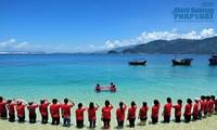 """Pengurus Besar Federasi Wanita Vietnam mengadakan program """"Berjalan seperjalanan dengan laut dan pulau kampung halaman"""""""