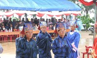 Kabupaten pulau Ly son mengadakan upacara mengenangkan para prajurit Hoang Sa