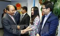 Opini umum internasional menilai tinggi kunjungan PM Nguyen Xuan Phuc di AS