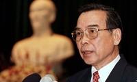 Mantan PM Phan Van Khai: Pembangun fundasi ekonomi yang mantap bagi Vietnam untuk melakukan integrasi internasional