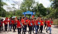 Kaum muda Daerah Dataran Rendah Sungai Mekong dan gerakan laut dan pulau adalah rumah