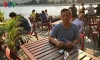 Masakan-masakan Viet Nam di restoran di Rusia