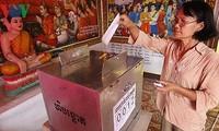 Kamboja menjelang pemilu penting