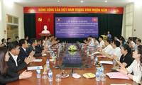 Pekerjaan mendidik kejuruan hukum bagi pejabat Laos