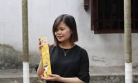 Nguyen Thi Hoai-Gadis muda dan perjalanan memproduksi hio aman dari rumput wangi Vetiver