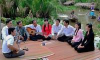 Provinsi Bac Lieu, tempat ayunan seni Don Ca Tai Tu