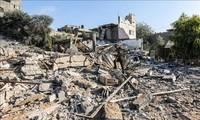 Israel menutup koridor-koridor dengan Jalur Gaza