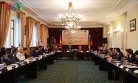"""Lokakarya dengan tema: """"Dua tahun pelaksanaan Perjanjian Dagang Bebas antara Viet Nam dan Persekutuan Ekonomi Eurasia: Hasil dan prospek"""""""